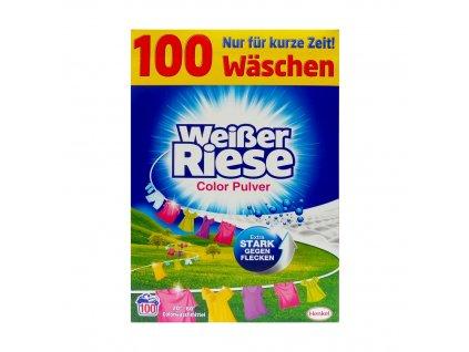 Henkel WEISSER RIESE Prací prášek 5,5kg (100dávek) WEISSER RIESE 5,5kg: COLOR (růžový)