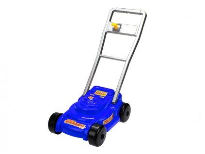 Sekačka na trávu 56x28x56cm modrá