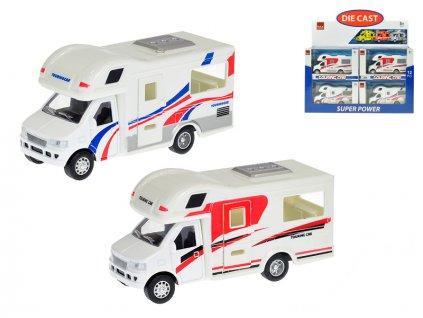Auto camping 13cm kov zpětný chod 2barvy v krabičce 12ks v DBX