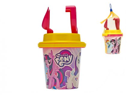 Sada na písek My Little Pony 14cm 4ks 10m+ v síťce