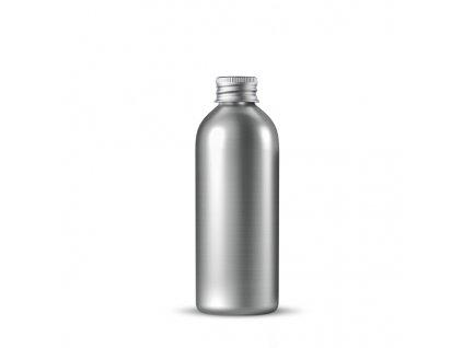 Hliníková lahvička s hliníkovým víčkem 150 ml