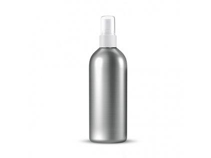 Hliníková lahvička s bílým sprejem 150 ml