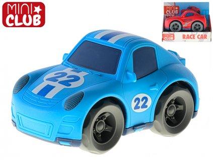 Auto závodní 14,5cm na setrvačník 2barvy 18m+ v krabičce
