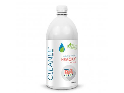 CLEANEE ECO Baby hygienický čistič na HRAČKY - náhradní náplň 1 L