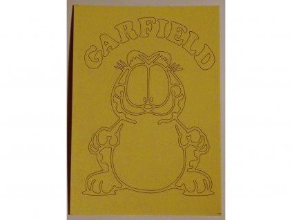 Šablona Garfield 1