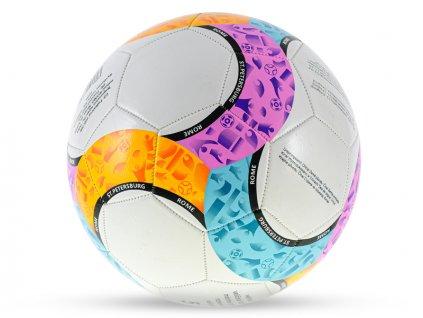 Míč fotbalový velikost5 210-230g barevný v sáčku