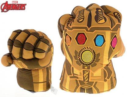 Avengers rukavice plyšová 56cm Thanos 0m+