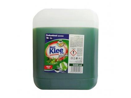 Herr Klee (Německo) HERR KLEE Koncentrovaný prostředek na mytí nádobí 5L Vůně Herr Klee 5L: Minze Aloe (tmavě zelená) - máta, aloe vera