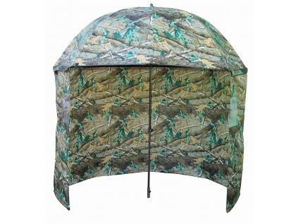 Deštník s bočnicí CAMO 210D 2,5m