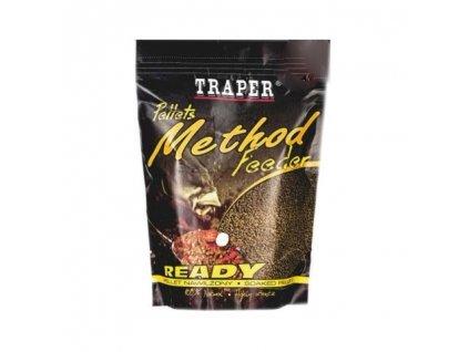 Pelety Method Feeder Ready Halibut červený 2mm 500g