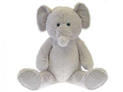 Slon plyšový 59cm sedící 0m+