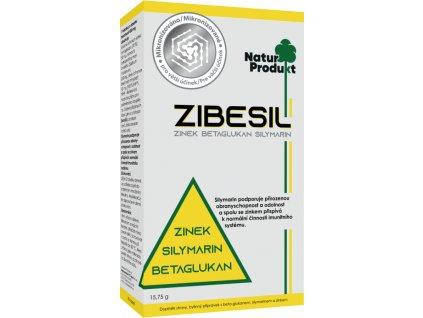 Zibesil-zinek+betaglukan+silymarin - 30 cps