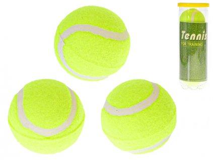 Míčky tenisové 3ks v dóze