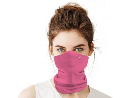 Antivirový nanošátek Swarovski v jarní edici růžový