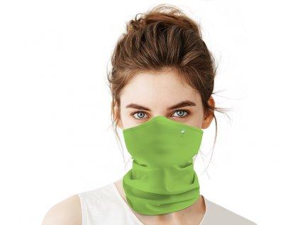 Antivirový nanošátek Swarovski v jarní edici zelený