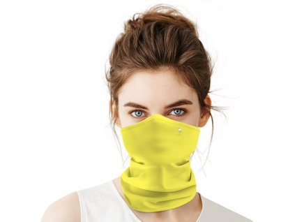 Antivirový nanošátek Swarovski v jarní edici žlutý