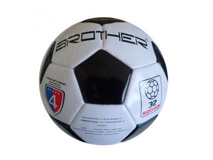 BROTHER VWB432 Kopací míč odlehčený čeno-bílý vel. 4