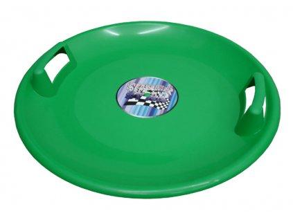 Acra A2034 Superstar plastový talíř - zelený