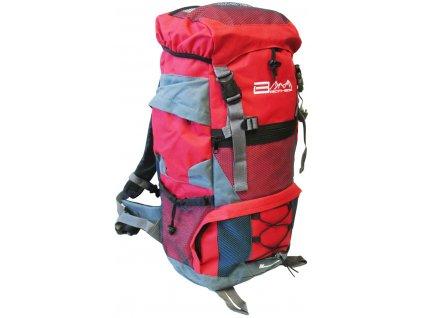 ACRA BA45 Turistický batoh červený 45 l
