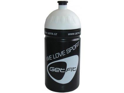 ACRA CSL05 Sportovní láhev 0,5L černá