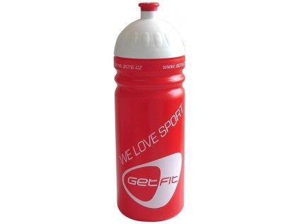 Acra CSL07 Sportovní láhev 0,7 L červená