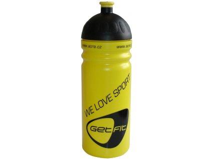 Acra CSL07 Sportovní láhev 0,7 L žlutá