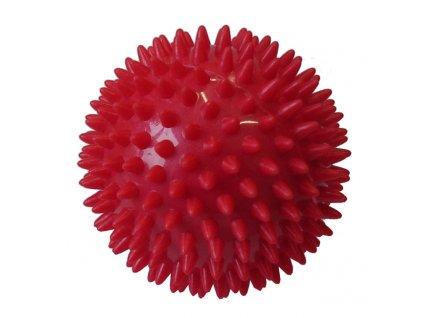 ACRA D25 Míček masážní průměr 7,5 cm červený