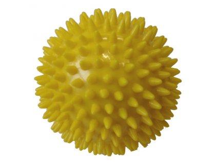 ACRA D26 Míček masážní průměr 9 cm žlutý