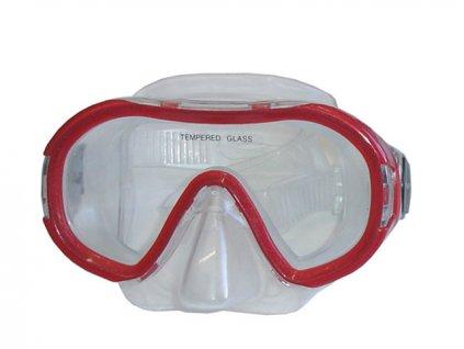 BROTHER P59958 Potápěčské brýle dětské červené