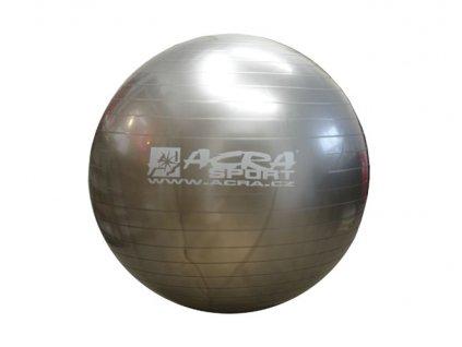 ACRA S3214 Míč gymnastický 900mm stříbrný