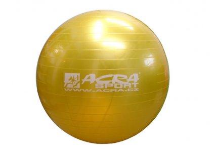 ACRA S3215 Gymnastický míč 650mm žlutý
