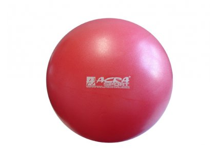 ACRA S3222 Míč OVERBALL 30 cm červený