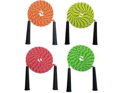 ACRA S74482 Švihadlo neon 2,5m 4 barvy
