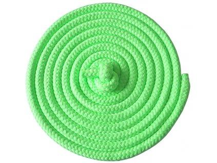Acra ACRA Gymnastické švihadlo 3m zelené