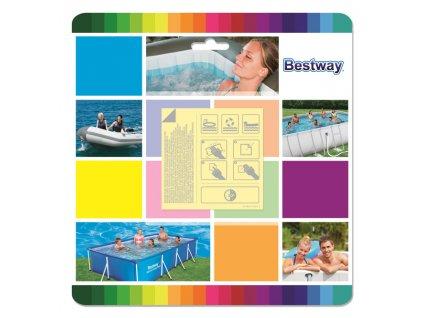 Bestway P62091 Záplaty samolepící PODVODNÍ