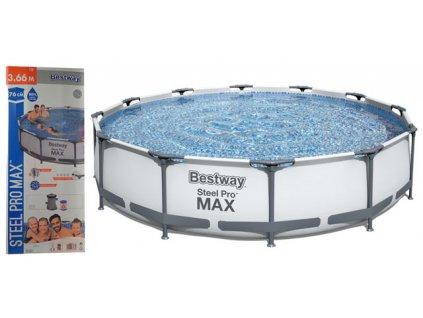 BESTWAY 56416 Bazén Family 366x76 cm + příslušenství