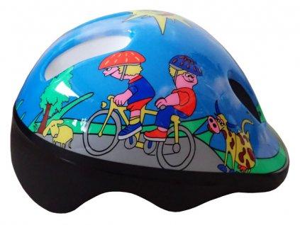 Brother CSH06 cyklo helma vel. S (48/52cm) modrá 2017
