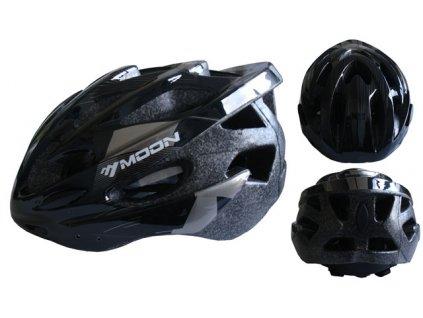 ACRA CSH30CRN černá cyklistická helma velikost L (58-61cm) 2018