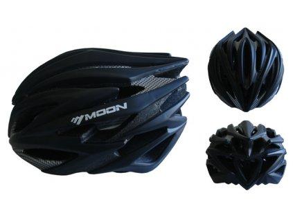 ACRA CSH98CRN-M černá cyklistická helma velikost M (55 - 58cm) 2018