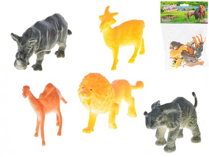 Zvířátka safari 5-7cm 12ks v sáčku