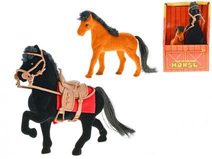Kůň fliška 16cm s hříbátkem v krabičce