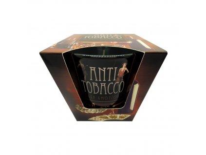 Vonná svíčka dlouhotrvající 115g Vůně svíčky: Anti Tobacco Deep Emotion (hluboký pocit anti-tabák)