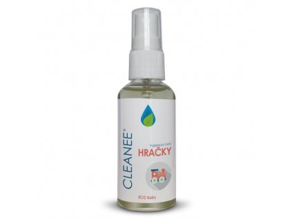 cleanee eco baby hygienicky cistic na hracky 50 ml