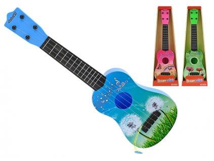 Kytara 61cm 3barvy v krabičce
