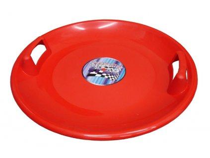 Acra A2034 Superstar plastový talíř - červený