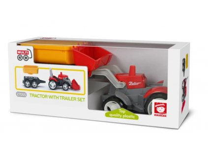 EFKO TRAFFIC City Multigo 1+2 traktor s přívěsem