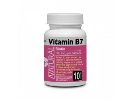 Biotin Vitamín B7, 60 tablet