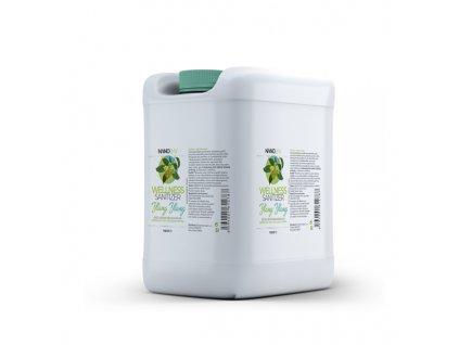 Šetrná dezinfekce WELLNESS Sanitizer náhradní náplň 5 litrů