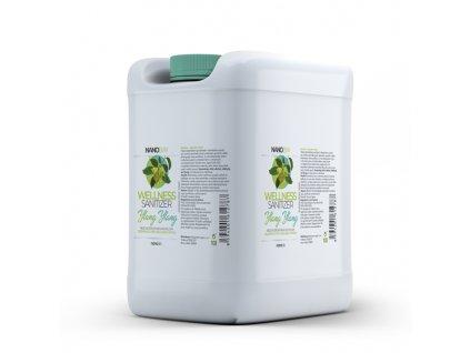 Šetrná dezinfekce WELLNESS Sanitizer náhradní náplň 10 litrů