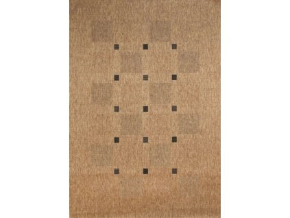 Devos koberce Kusový koberec FLOORLUX Coffee/Black 20079 Spoltex - 60x110 cm